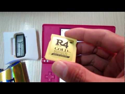 R4I GOLD Pro works on DSi 1.4.4.flv