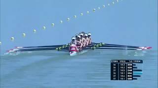 World Rowing U23 Championships Plovdiv 2017  A-Final BW8+ 23 July