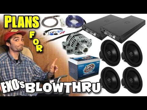 Choosing The BEST Car Audio Setup For YOU Planning For a LOUD Bass System w EXOs NVX TRUCK Build