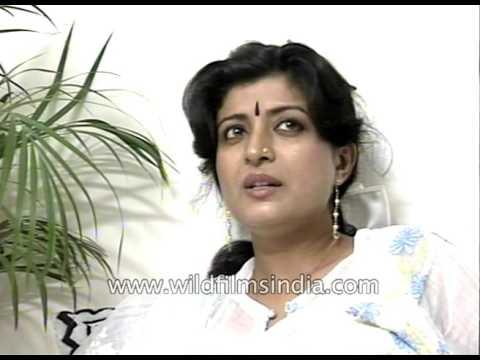 Bengali film actress and dancer Debashree Roy - archival footage