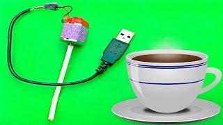 How to make Usb Electric Coffee Mixer at Home