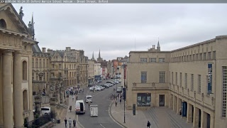 Oxford Martin School Webcam - Broad Street, Oxford