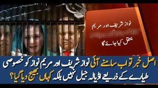 Pakistan News Live Nawaz Sharif Aur Maryam Ko Kahan Bhej Diya Gaya