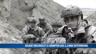 Soldat erschießt IS-Kämpfer aus 3,54km Entfernung