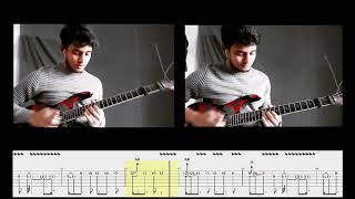 Warfaze - Shomoy (Guitar Solos Cover with Tab)