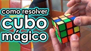 Renan Cerpe ensina a resolver o cubo mágico
