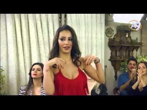 Sırp güzelin Adnan Oktar'ın önünde seksi dansı!