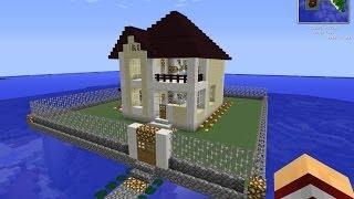 Как красиво строить дома в minecraft