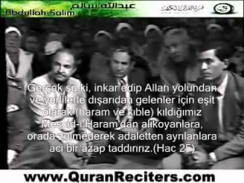 Abdulbasit Abdussamed - Hac Suresi 3