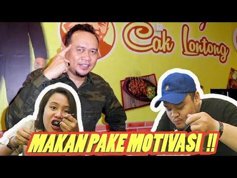 NYOBAIN WARUNG CAK LONTONG !! MAKAN PAKE MOTIVASI !!
