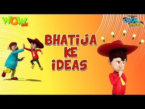 Bhatije Ke Idea - Chacha Bhatija Funny Videos and Compilations - 3D Animation Cartoon for Kids