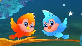 Two little dicky birds nursery rhyme