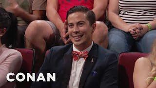 Audience Member Theme Songs: Handsome Pee Wee Herman Edition  - CONAN on TBS