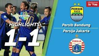 Persib Bandung vs Persija Jakarta: 1-1 All Goals & Highlights