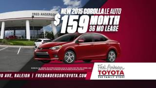 Fred Anderson Toyota - Big One Sales Event - July 2015