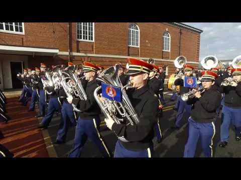 watch U.S. Army Staff Sgt. Bridges Practices for Inaugural Parade