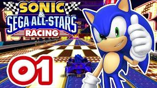 Sonic & Sega All Stars Racing #01 [XBox 360 | Expert] – Chao Cup