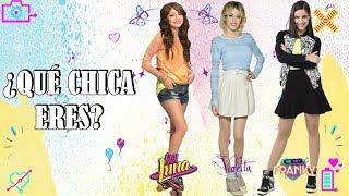 ¿Qué Chica Eres? -  Luna,  Violetta O Franky  ¡TEST PERSONALIDAD!