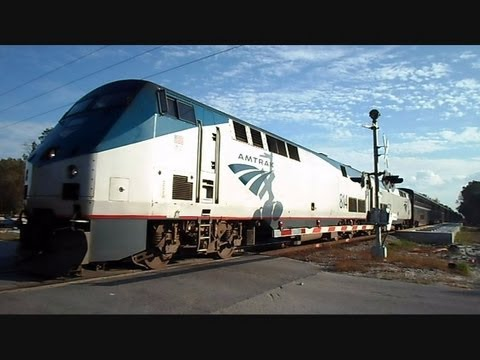 Amtrak Auto Train Loading And Going