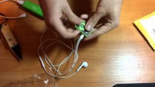 Посылка с Aliexpress : MP3 плеер и наручники