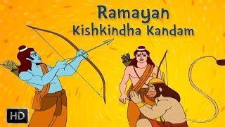 Ramayan Full Movie - Kishkindha Kandam - Ram In Search Of Sita - Animated / Cartoon Stories for Kids