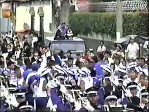 INSTITUTO NACIONAL DE USULUTAN INUS BAND 2001 DESPEDIDA DE CAMPEON