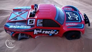 Electric hpi Baja - Dunes Fun باجا فايف تي إلكتريك في البر