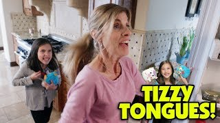 UNBOXING Unicorn and Monster TIZZY TONGUES SURPRISE!!!!!