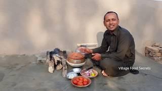 Chicken Karahi in Mitti Ki Handi | Village Style | Grandma