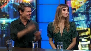 Tom Cruise & Sophia Boutella