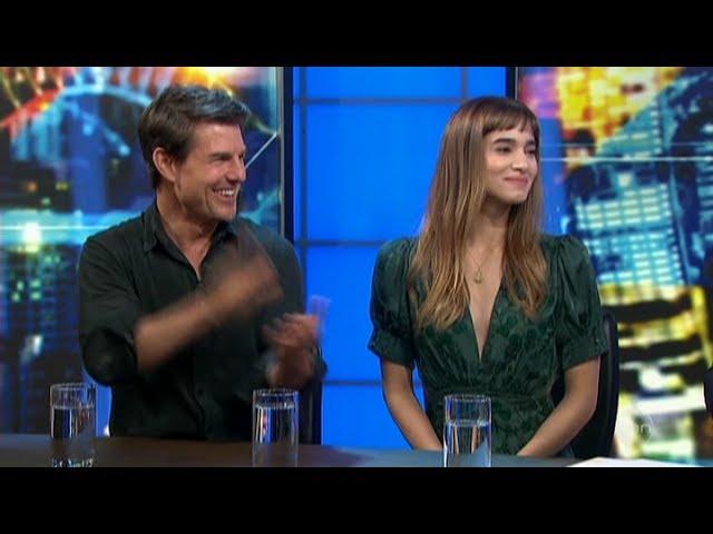 "Tom Cruise & Sophia Boutella ""The Mummy"" Australian Tv Interview May 23, 2017"