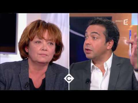 Eric Brunet et Nathalie Saint-Cricq - C à vous - 16/02/2017