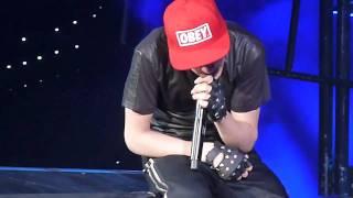 DOWN TO EARTH Justin Bieber MY WORLD TOUR PARIS 29/03/2011