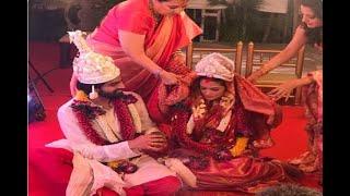 In Graphics: Bollywood actress Riya Sen gets married to boyfriend Shivam Tewari, See Pics