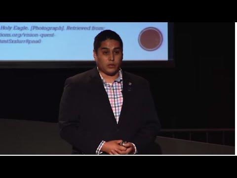Protecting Lakota culture with science tech engineering & math Vaughn Vargas TEDxRapidCity