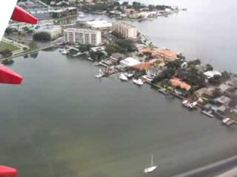 737 Landing in Tampa
