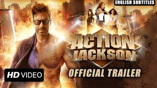 Action Jackson (Official Trailer With English Subtitles) | Ajay Devgn & Sonakshi Sinha