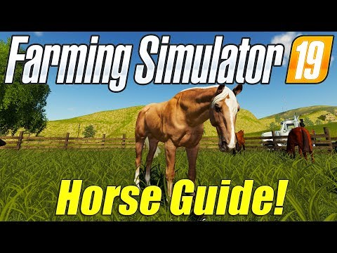 Xxx Mp4 Farming Simulator 19 Horse Guide New Animal 3gp Sex