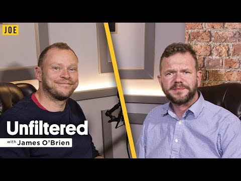 Robert Webb interview on Peep Show, David Mitchell & masculinity | Unfiltered James O'Brien #3