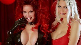 Sexy Bianca Beauchamp's Krampus + naughty Bella French