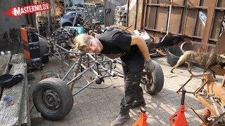'Build a buggy in your backyard' part #2; frame & front suspension
