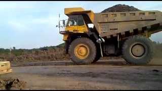 Jalan jalan di Tambang Batu bara