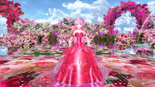 MMD・034P・Tda Luka [voc.LUKA_V4X] [Cinematic Orchestral] Pour love to rose 薔薇に愛情をそそぐ [香花] Rose Garden