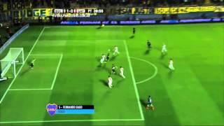 Gol de Gago. Boca 1 - Guaraní 0. Octavos de Final. Copa Argentina 2015. FPT.