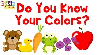 Learning Colors for Toddlers, Primary Colors for Kids