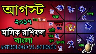 August 2017 Monthly Horoscope in Bengali