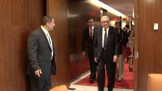Iranian Foreign Minister Leaving NY