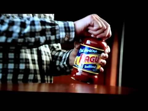 Ragu commercial kid sees parents in bed