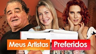 MEUS ARTISTAS PREFERIDOS | TAG | Luana Piovani