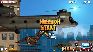 NY Rex Game / Giant Dinosaur in New York / / Browser Flash Games / Gameplay Video